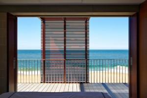 Blockhouse beachview see through cladding