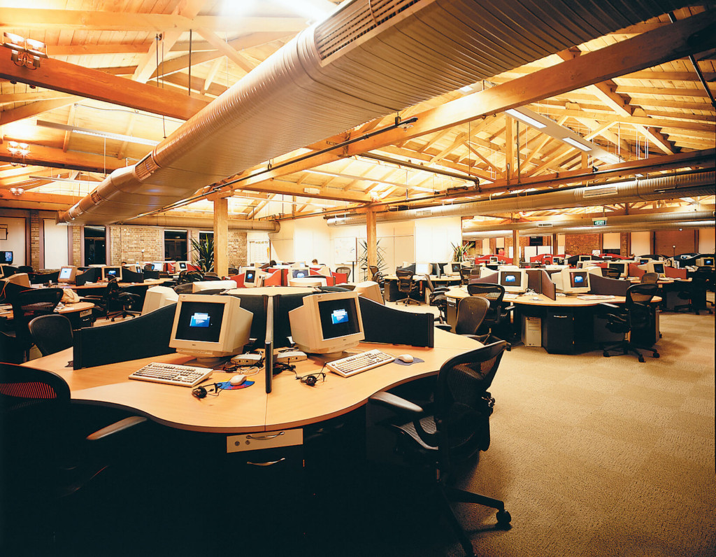 The operational area of the call center