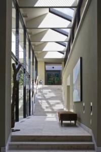 Stair with skylight